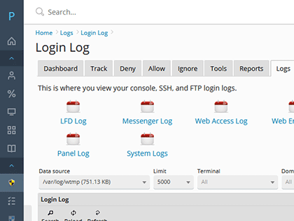 Login Auditing